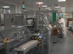 2005 - Pre-filled syringes packing line (Cartoning)